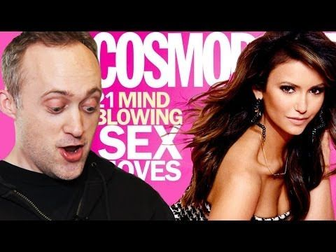 So, do guys find Cosmopolitan Magazine's sex tips appealing? We decided to find out.   This Is What Happens When Guys Read Cosmo Sex Tips