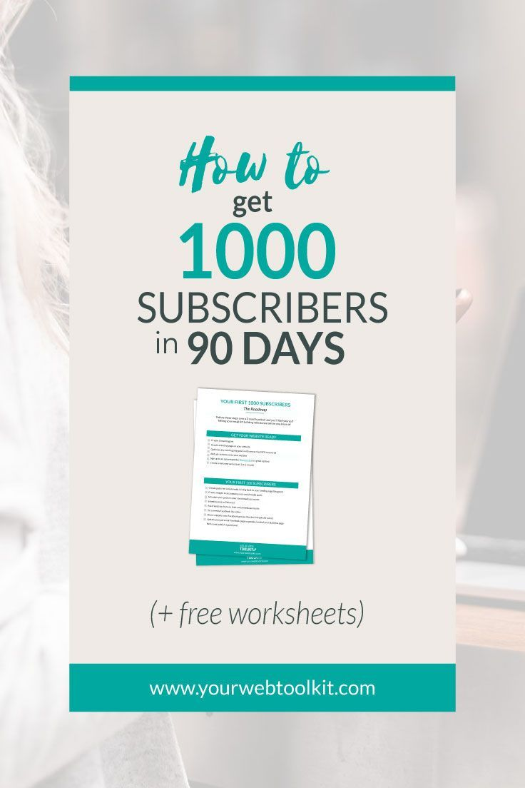 This is the third post in a series where I share list building tactics to help you get your first 1,000 subscribers in 90 days. Download the free roadmap to help you follow the steps. via /yourwebtoolkit/