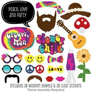 booth props free hippies - Buscar con Google