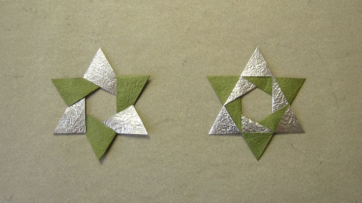 Christmas Origami Instructions: Hex Star (Maria Sinayskaya) (+playlist)