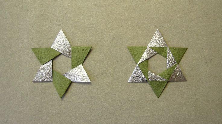 Christmas Origami Instructions: Hex Star (Maria Sinayskaya) (+playlist)
