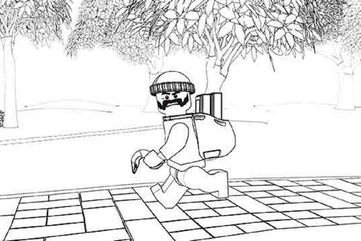 robber coloring pages - photo#13
