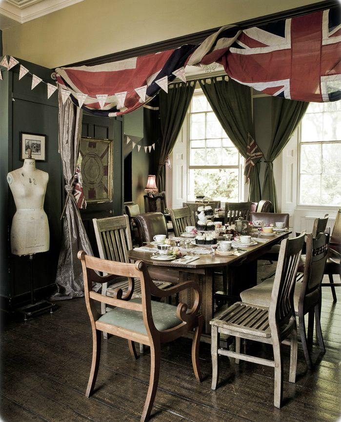 Rule Britannia Vintage Tea Party by  Angel Adoree