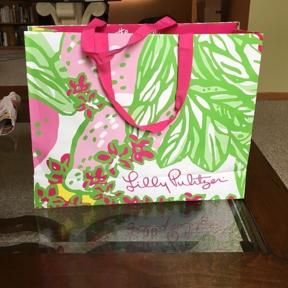 Lilly Pulitzer Shopping Bag Lilly Pulitzer Shopping Bag Lilly Pulitzer Bags