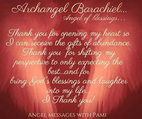 Archangel Barachiel....