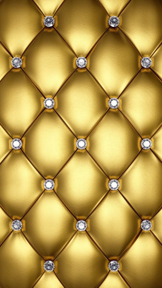GOLD WITH DIAMONDS, IPHONE WALLPAPER BACKGROUND