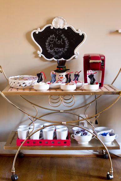Hot Chocolate and Coffee Bar