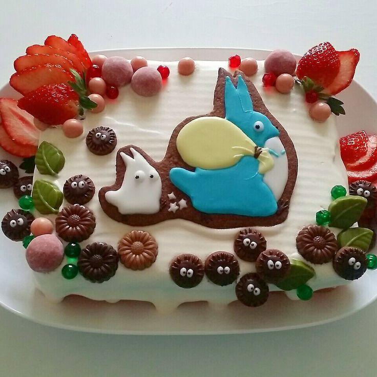 キャラケーキ♪トトロ♪