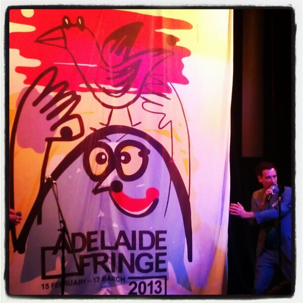 "@underscorepeekay's photo: ""And BAM we have a new poster for the 2013 #Adelaide Fringe Festival #adlfringe"""