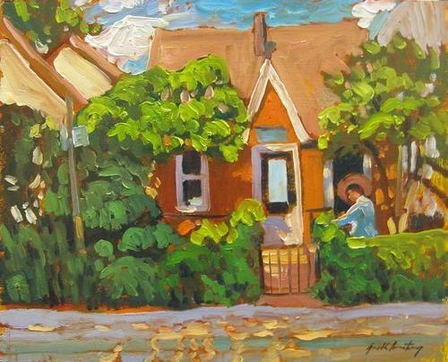 Garth Armstrong - Cabbagetown Toronto 8 x 10