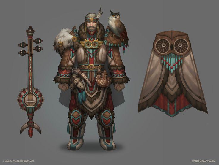 Character Design Pinup Art : Artstation priden bard costume ekaterina shapovalova