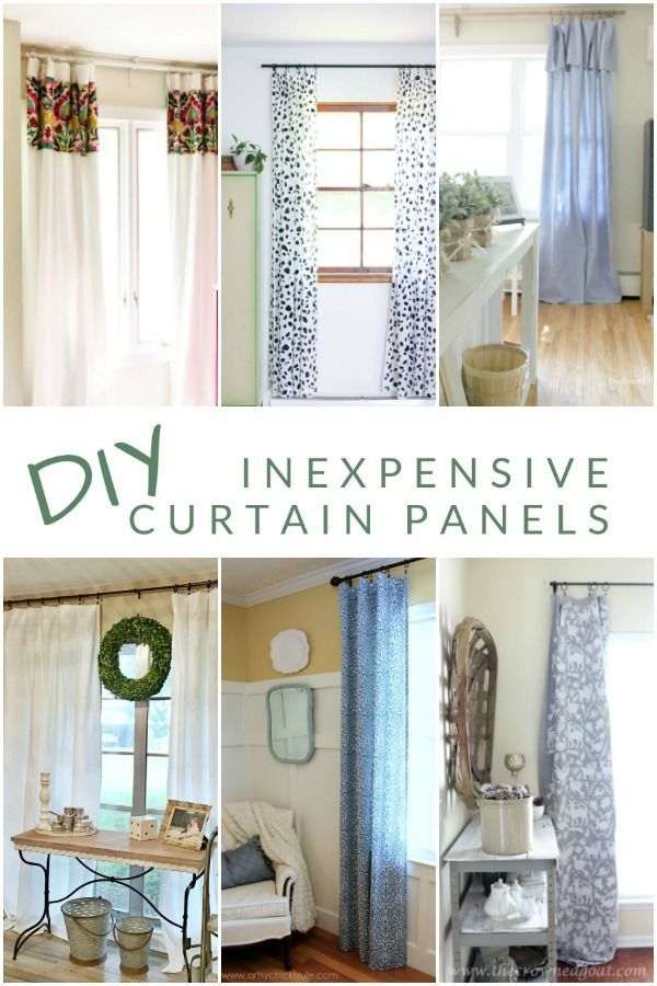 No Sew Diy Curtain Panels Buy Home Furniture Panel Curtains
