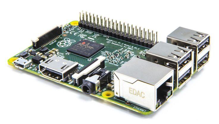 Raspberry PI 2 HTPC Mediacenter, Kodi (XBMC), Wlan, Vesa Rahmen, Kühlkörper