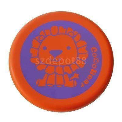 PU Frisbees Flying Disc Kids Outdoor Garden Park Beach Throwing Toy Orange. #Frisbees #Flying #Disc #Kids #Outdoor #Garden #Park #Beach #Throwing #Orange