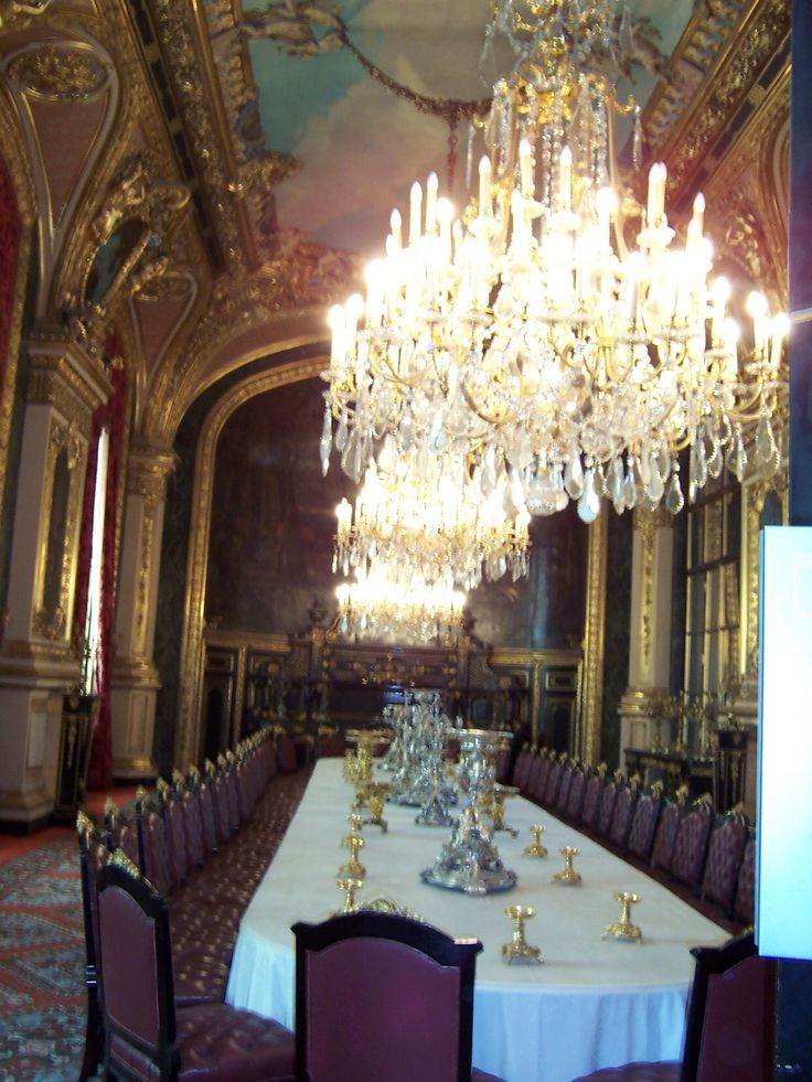 Dining Room at the Louvre Palace