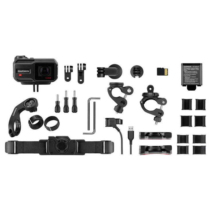 Garmin VIRB XE Action Camera Cycling Bundle   Helmet Cameras