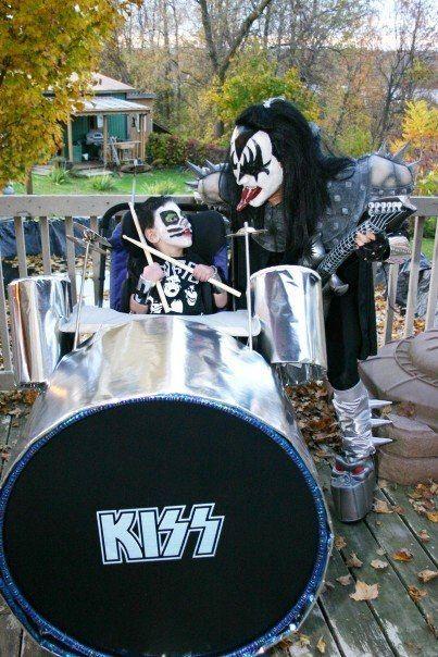Disfraces para niños en silla de ruedas: Kiss