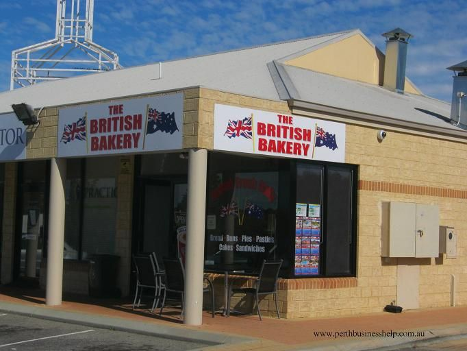 This is the British Bakery, in northern suburb of Kinross.