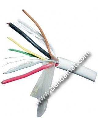 Cable Alarma 2x0.75 + 4x0.22 | Tiendamat.com