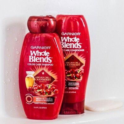 Garnier Whole Blends Argan Oil & Cranberry Extracts Color Care Conditioner - 12.5oz
