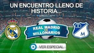 ¡Vea y comparta con sus amigos este especial del partido Real Madrid vs. Millonarios!