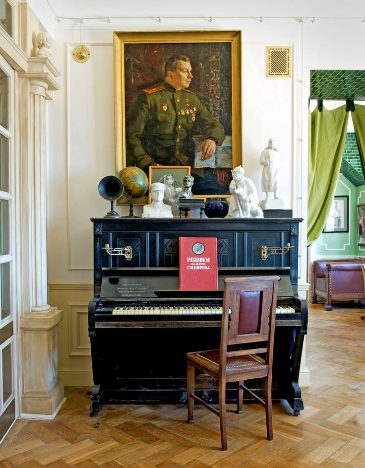 A St. Petersburg apartment decorated to provoke conversation about a dark era in Russia's history.