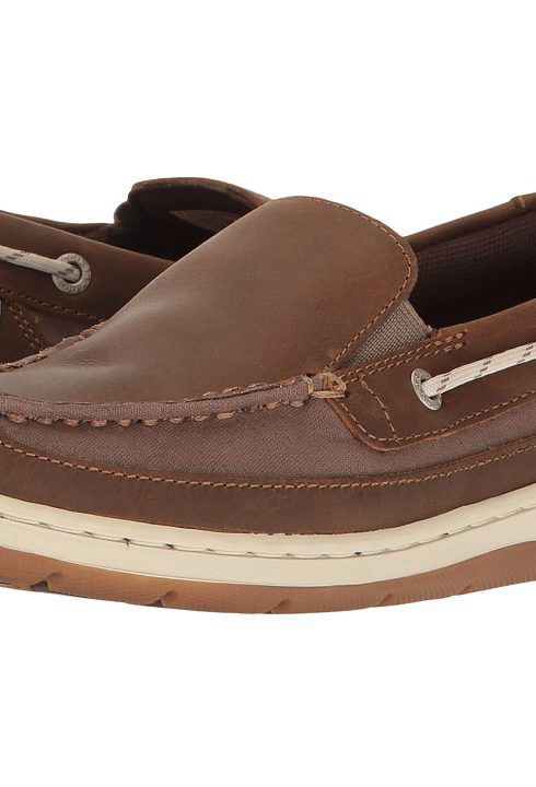 Sebago Maleah Slip-On (Dark Brown Leather) Women's Shoes - Sebago, Maleah Slip-On, B633266-201, Footwear Closed General, Closed Footwear, Closed Footwear, Footwear, Shoes, Gift, - Fashion Ideas To Inspire