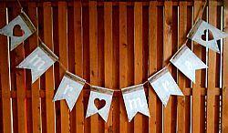 Σημαιάκια Mr & Mrs