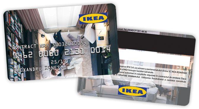 Cardul de credit IKEA a fost făcut pentru case cu vise mari. Te poate ajuta să îți iei mobilierul pe care îl dorești în rate egale, cu 0% dobândă.