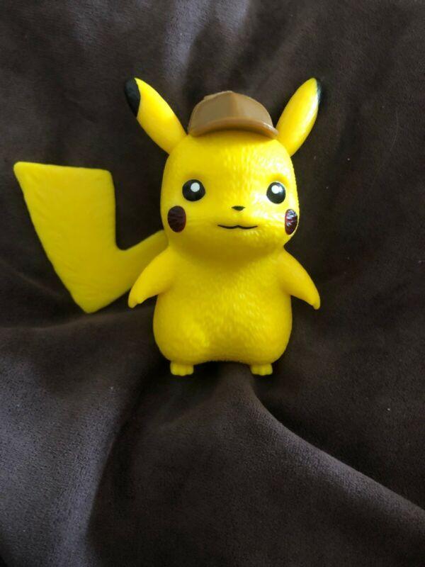 Pokemon Detective Pikachu Figure 2019 Burger King Kids Meal Toy Works Pikachu Pokemon Ebay
