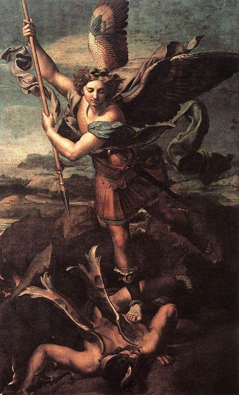 Michael Archangel_and il Devil_RAFFAELLO Sanzio