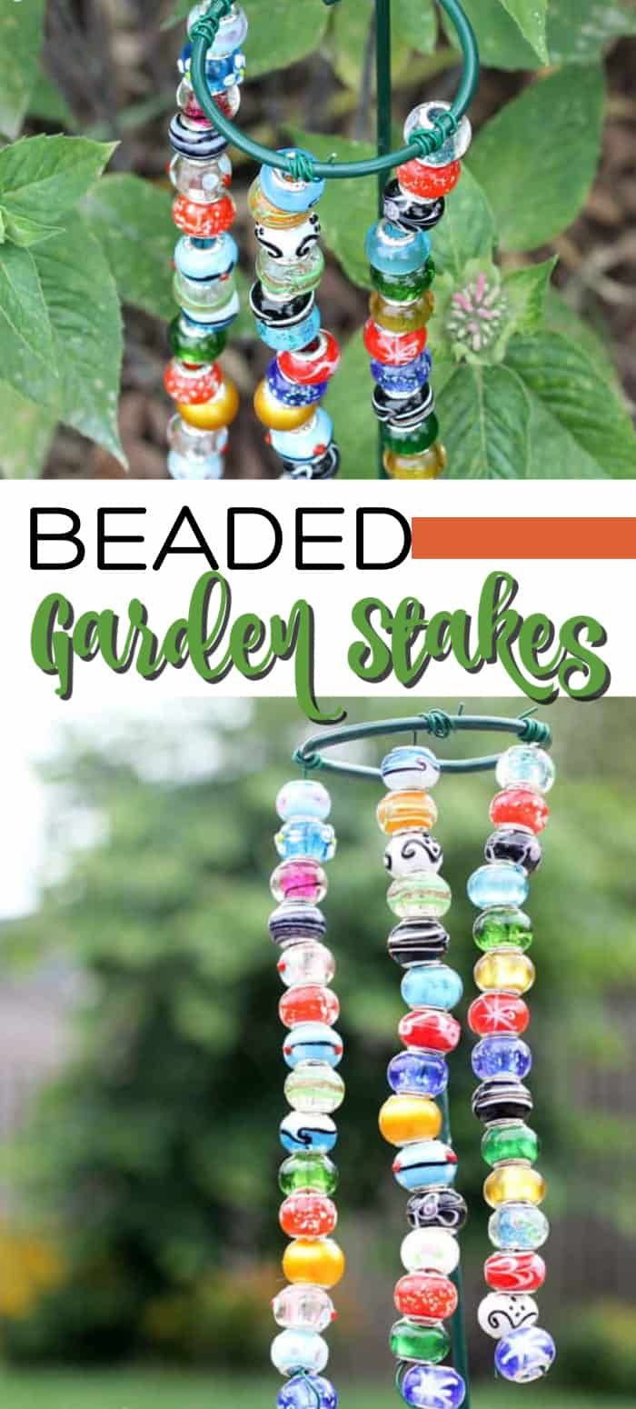 These Easy Decorative Garden Stakes Are Kid Friendly Budget Friendly And Super Easy To Make Th Decorative Garden Stakes Diy Garden Projects Diy Garden Decor