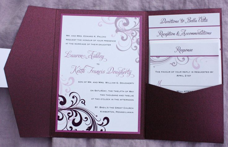 handmade wedding invitations ideas | Wedding Invitation Ideas Template Card | Invitation Templates