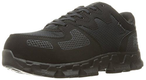 Timberland PRO Women's Powertrain Alloy Safety Toe SD  Industrial and Construction Shoe, Black Synthetic/Ripstop Nylon, 7.5 W US ** Click image for more details.