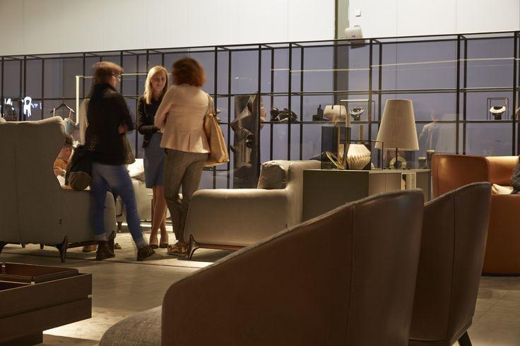 #ditreitalia #salonedelmobile #stand #2016 #design #livingroom #sofa #armchair