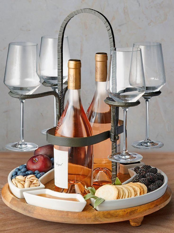 Weston Wine Caddy Frontgate Wine Caddy Wine Decor Italian Wine