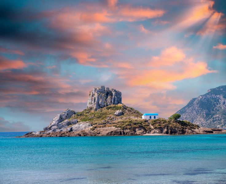 Kastri Islet, Kos Island - Greece's tribute to Wuthering Heights. Find it opposite Kefalos beach on Kos's south side. Here are 4 other things I love about Kos.