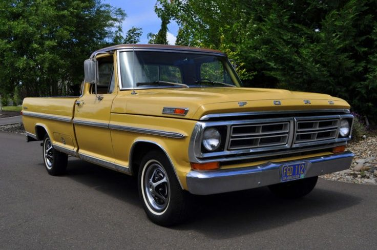 1972 Ford Trucks 1972 F100 Explorer Ford Trucks 67