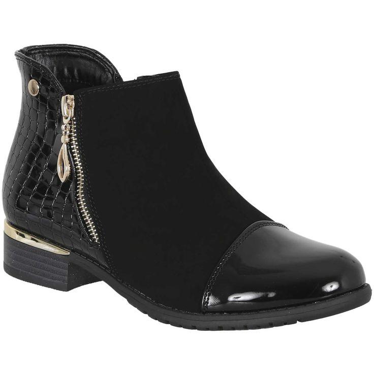 Calzado de Mujer Platanitos btpt 7021 Negro | platanitos.com