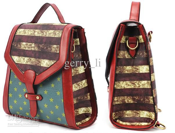 Wholesale Tote Bags - Buy Women Lady's National Flag Design Tote ...
