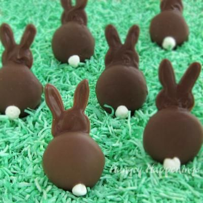 Marshmallow Bunny Silhouettes {Easter Treats} - Tip Junkie