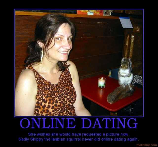 Online dating is she interested