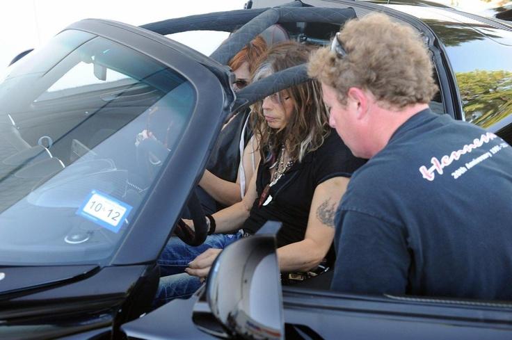 Стивен Тайлер получил первый Hennessey Performance Venom GT Spyder