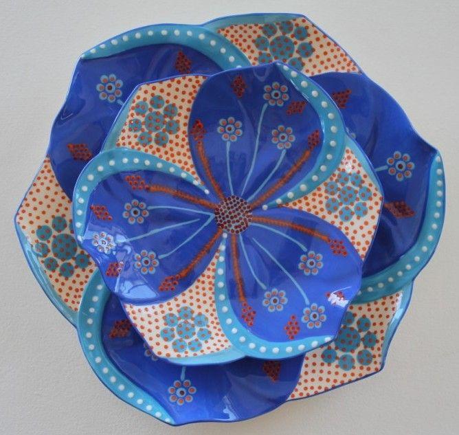 Tulip Side plate - Potter's Workshop