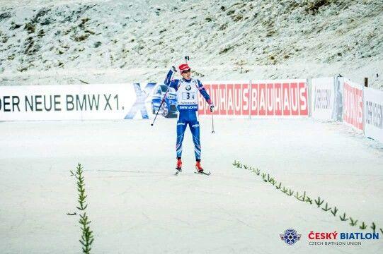 Ondrej Moravec Mixed relay 3rd place