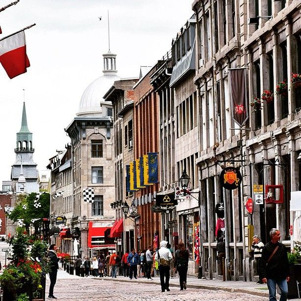 Old Montreal, Quebec, Montreal, Quebec - Welcome to old Montreal. ...