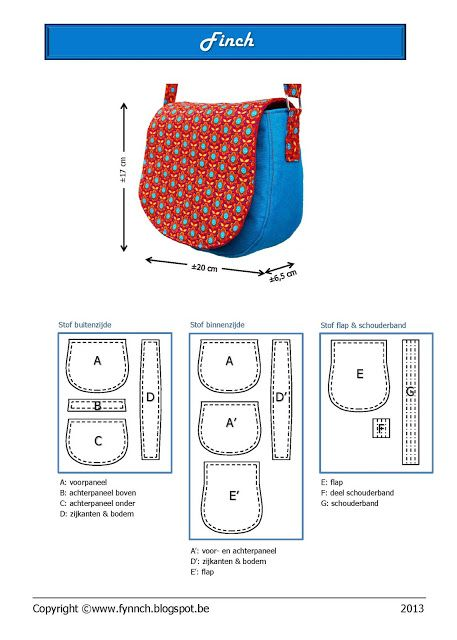 Bag tutorial and pattern