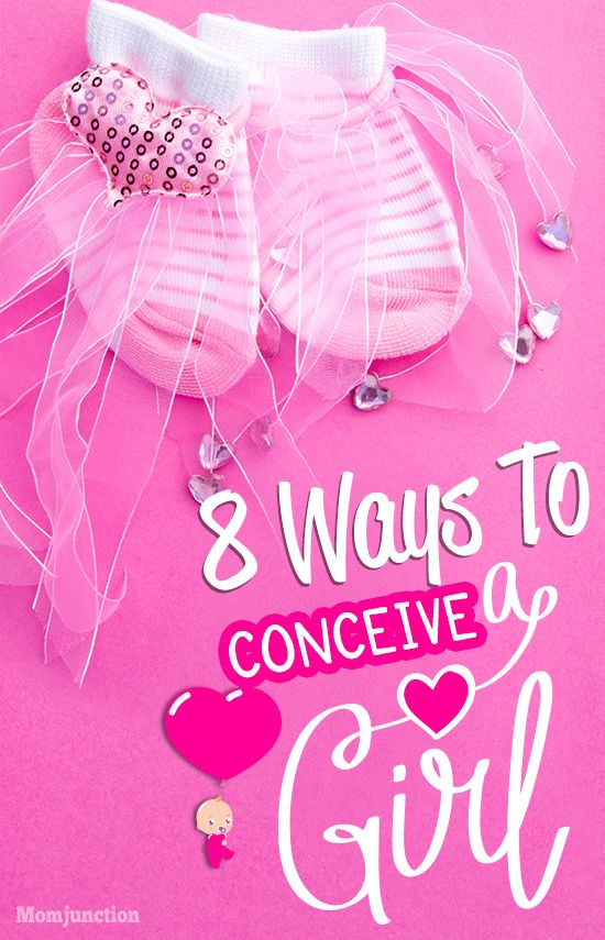 It's A Girl! Eight Ways To Help You Conceive A Baby Girl : however, numerous theories have been tested by research scholars on possible steps that a woman could take in order to have a baby girl. Given below are eight things that may increase the chances of a mother giving birth to a girl!