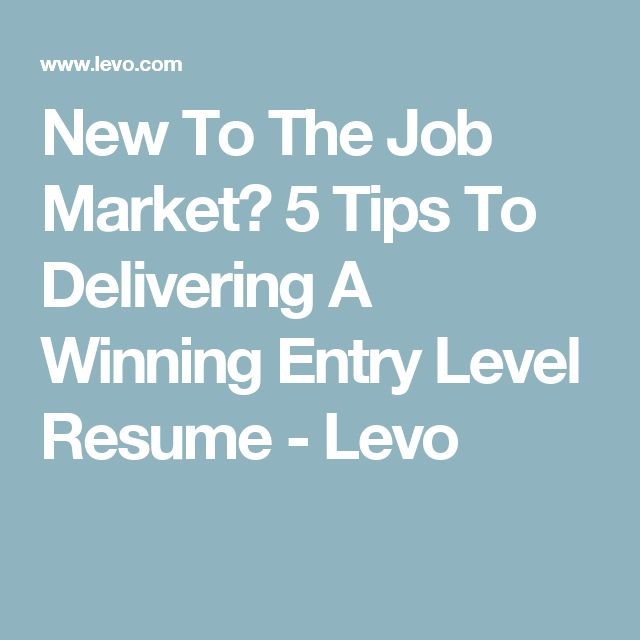 25+ unique Entry level resume ideas on Pinterest Accounting - entry level jobs resume