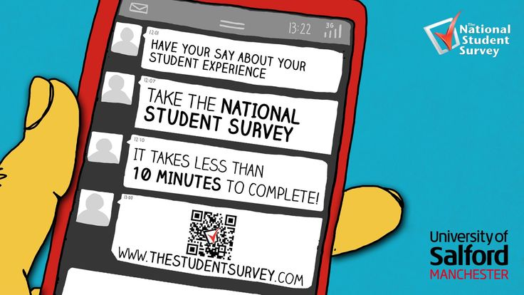 Sam Grogan talks about NSS Student survey and Salford - student survey
